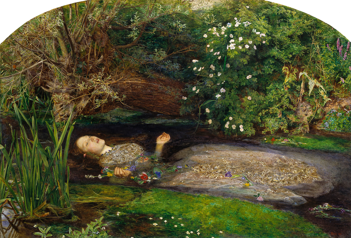 Photo of Ophelia painting